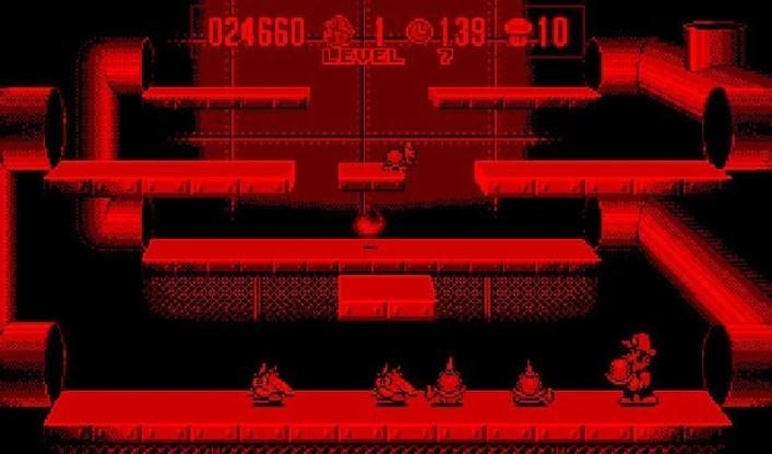 A tela vermelha e preta ainda arranca suspiros dos jogadores mais nostálgicos.