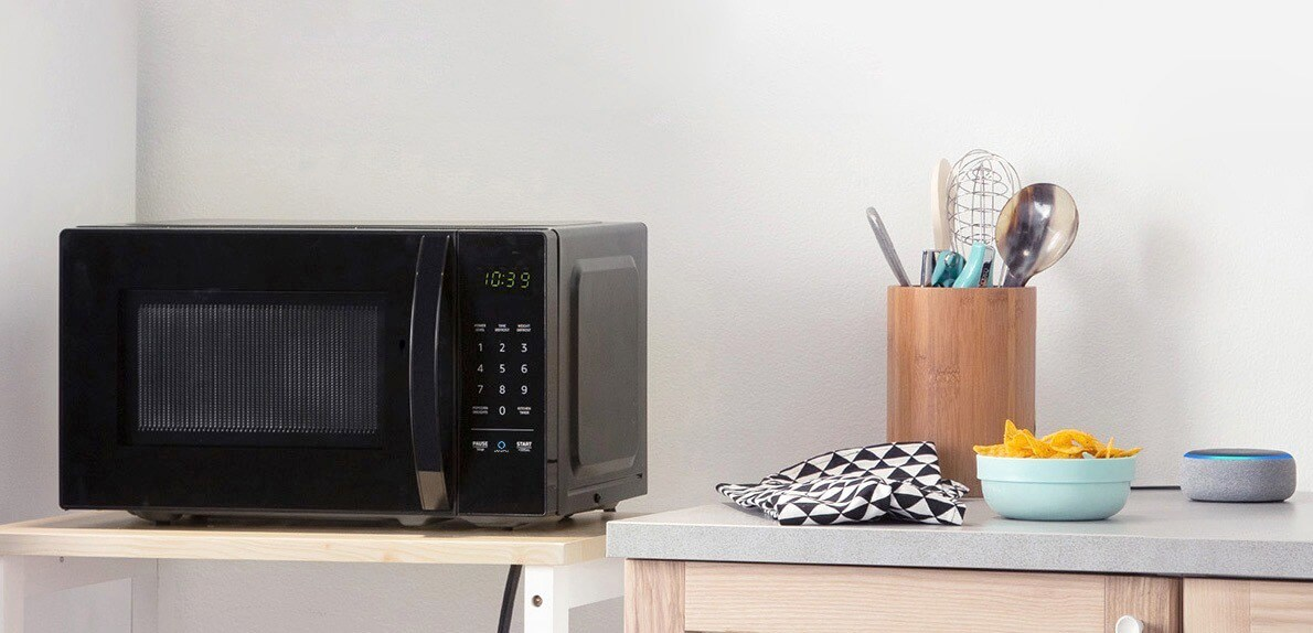 Este Microondas inteligente da Amazon fala com você pela Alexa