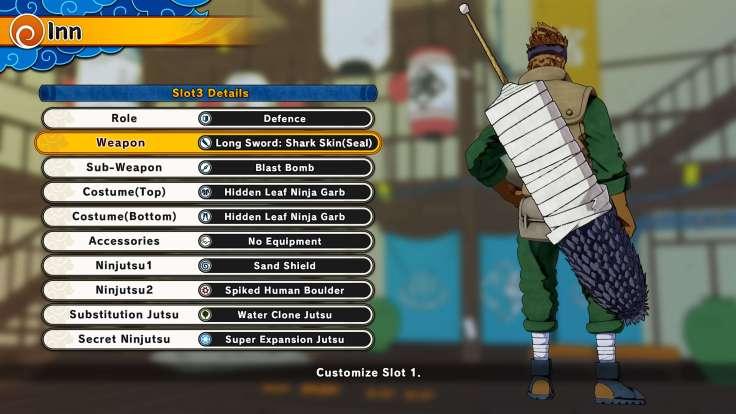 São muitas combinações para seu ninja!