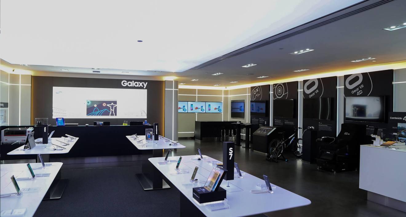 Morumbi Shopping, a Samsung irá oferecer um coquetel especial para o lançamento e os visitantes poderão conferir
