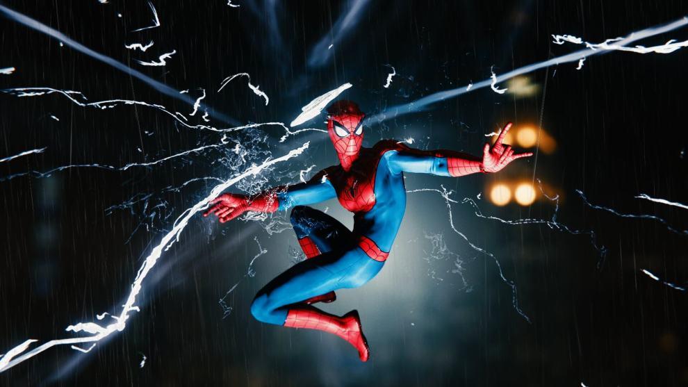"""Dm58UqMW4AAPvKR - Review: Marvel's Spider-Man é a aventura definitiva do """"cabeça de teia"""""""
