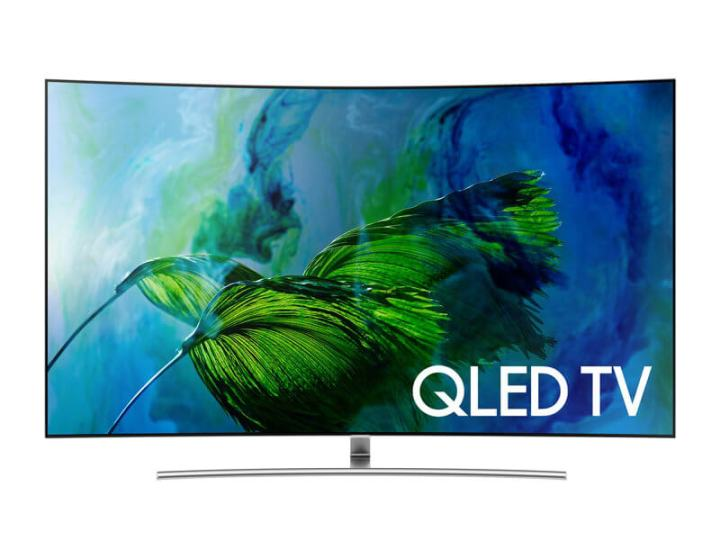 TV QLED com 100% de volume de cores
