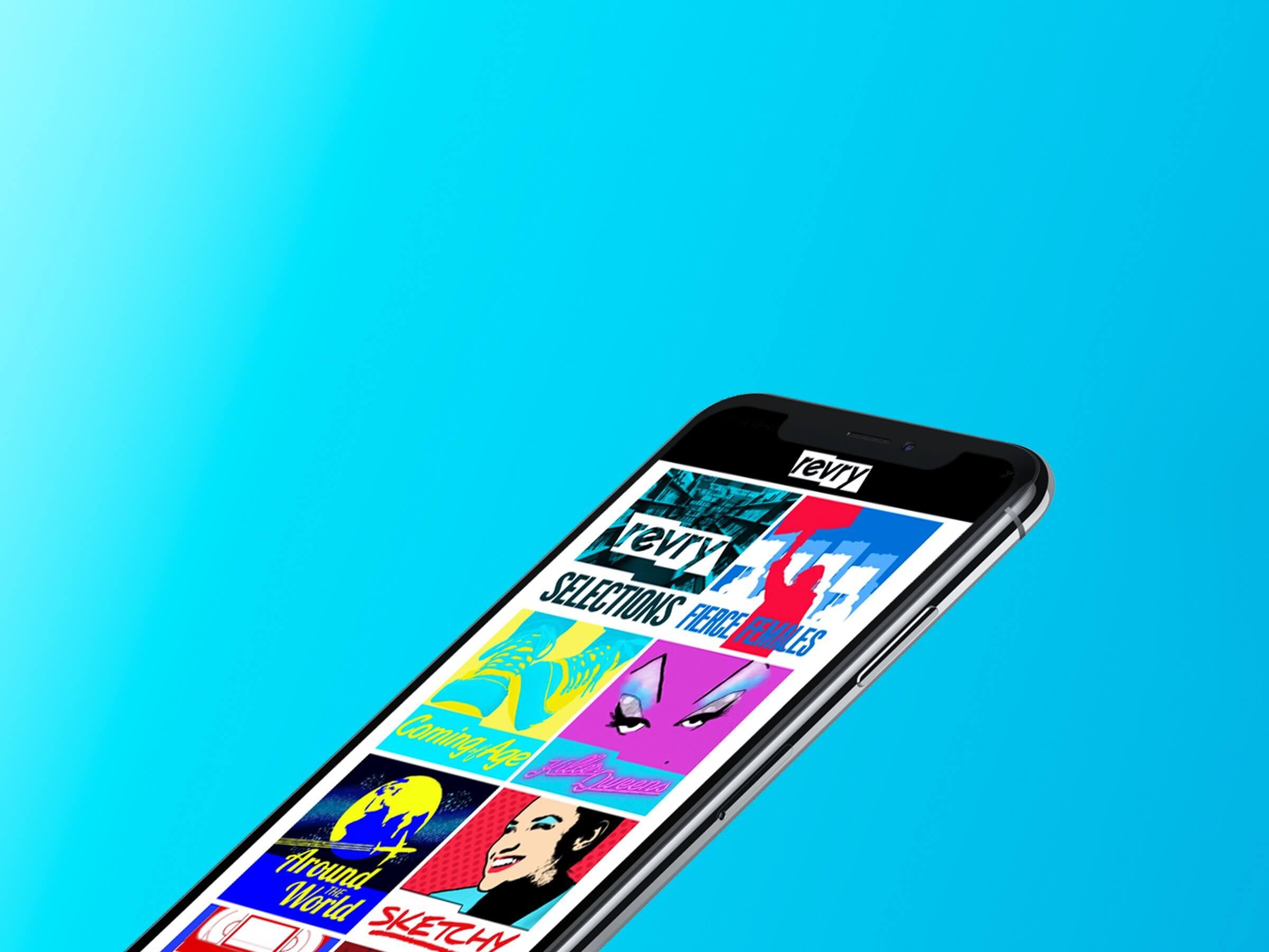 Revry iOS 01 - Conheça Revry: a plataforma de streaming voltada para o público LGBTQ+