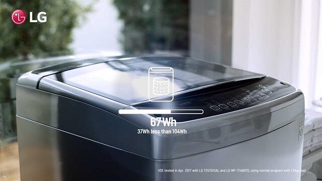 Motor Inverter Direct Drive garante ciclo de lavagem mais curtoMotor Inverter Direct Drive garante ciclo de lavagem mais curto