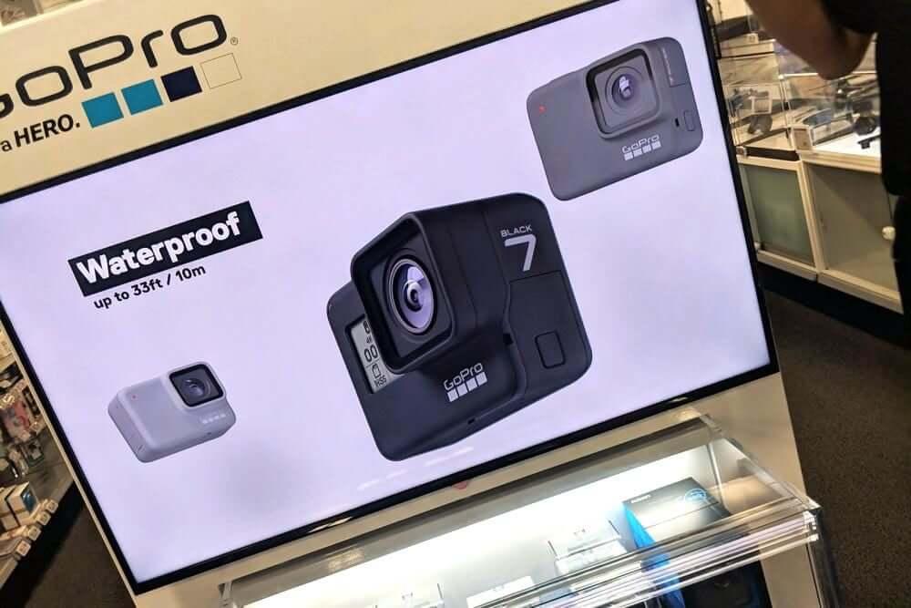 gopro hero 7 leak 1 1000x667 - Nova GoPro Hero 7: loja vaza imagens da antes do lançamento oficial