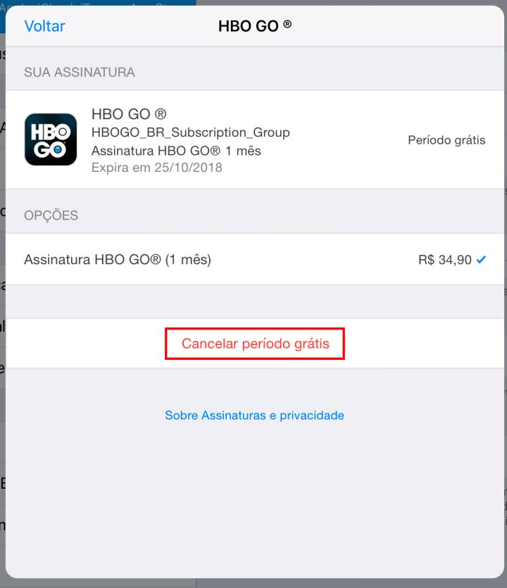 hbo2 1 720x835 - Como cancelar assinaturas da Apple