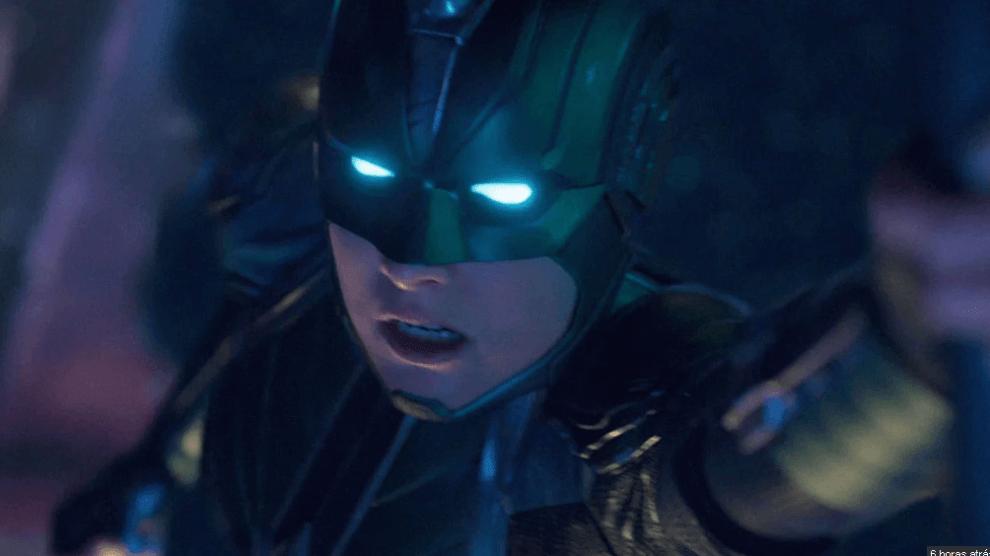 Capitã Marvel aparece de capacete no primeiro trailer oficial do filme