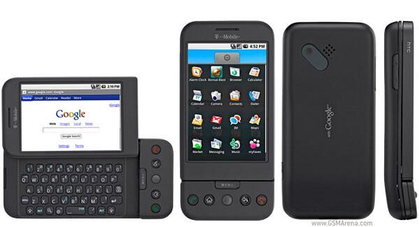 HTC Dream, o primeiro smartphone com Android a ser lançado