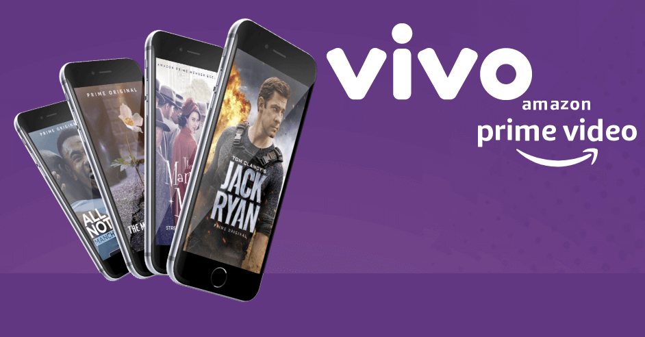 Vivo lança oferta exclusiva do Amazon Prime Video para clientes