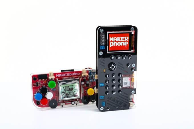 4 maker buino - MAKERphone: monte um celular por US$ 89 com esse projeto do Kickstarter
