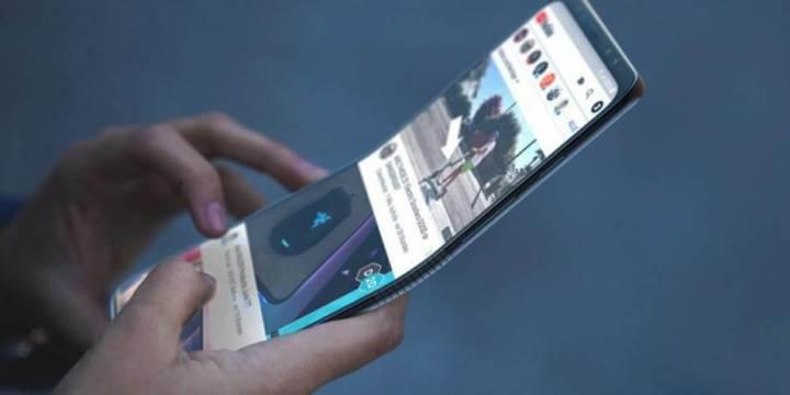 Além do Galaxy S10, veja a ideia de como seria um modelo que abre verticalmente