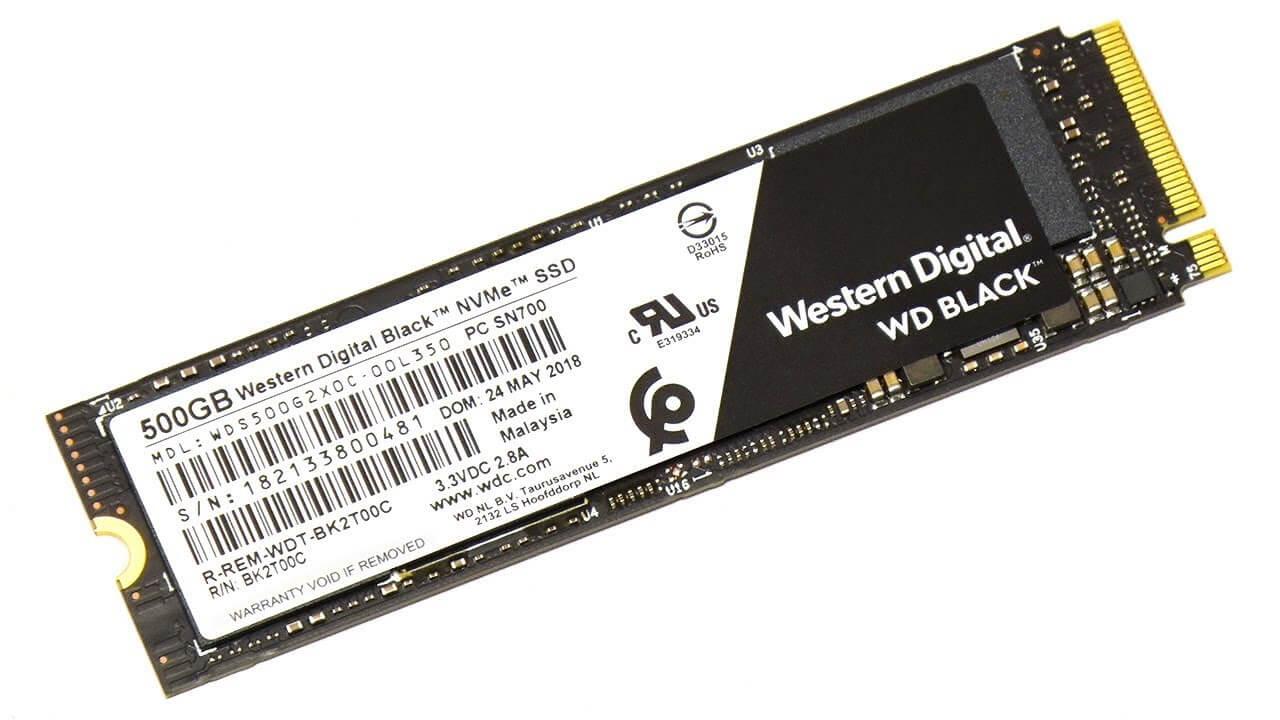 WD BLACK NVME SSD western digital 3d nand - NVMe SSD: Western Digital anuncia dispositivos 37 vezes mais rápidos