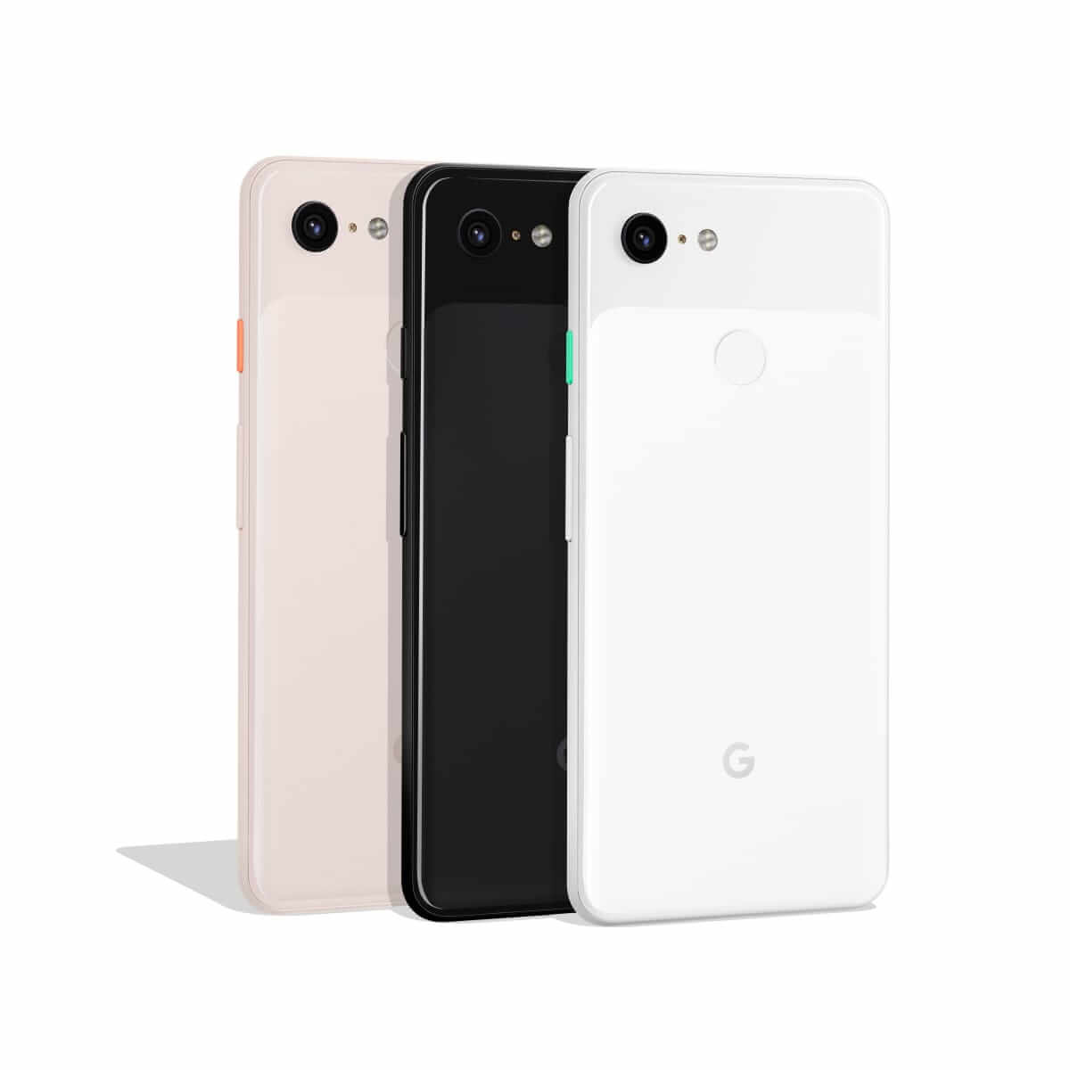 Google Pixel 3 Not Pink, Just Black and Clearly White