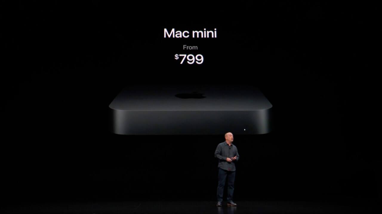 Mac Mini por US$799