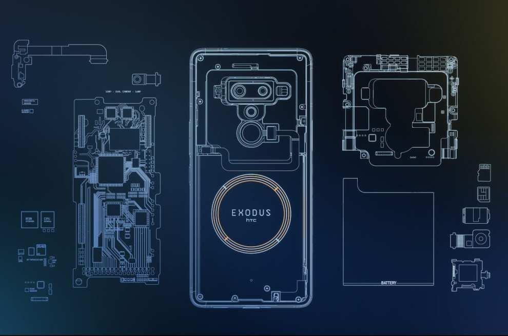 Exodus 1 é o primeiro smartphone focado em blockchain da HTC 4