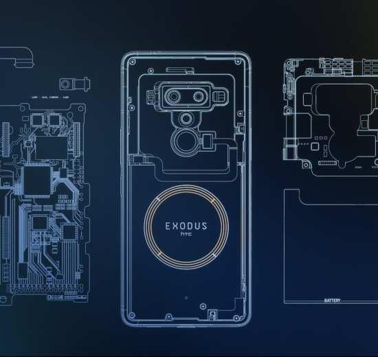 htc exodus 1 23085943144012 - Exodus 1 é o primeiro smartphone focado em blockchain da HTC