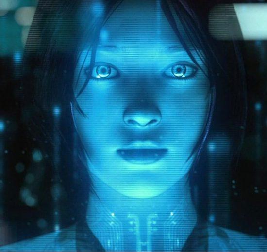 Cortana, Inteligência Artificial, Personagem
