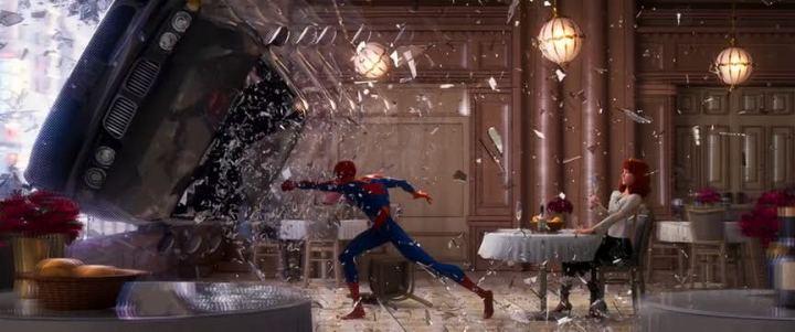 spider verse car window 720x301 - Into the Spider Verse: novo trailer de Spider Man é todo sobre os anos 90
