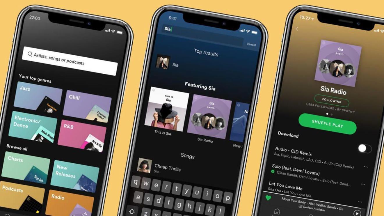 spotify app - Spotify ganha atualização e uma versão mais completa para o Wear OS