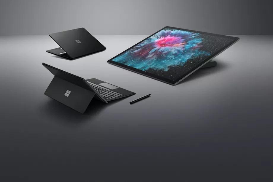 Evento da Microsoft: Back to Black