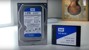 western digital - SSD com HD