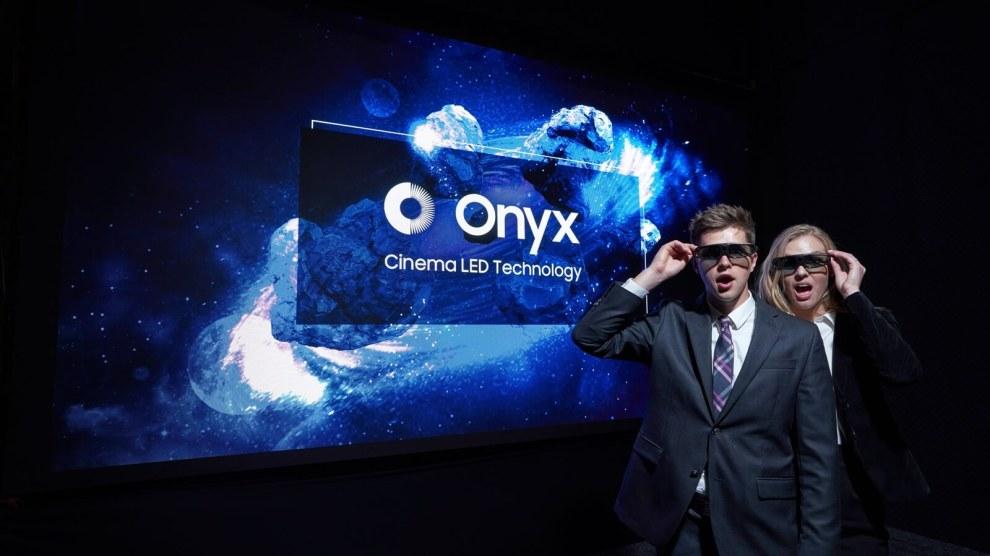 Samsung Onyx: primeira tela LED de cinema chega ao Brasil 6