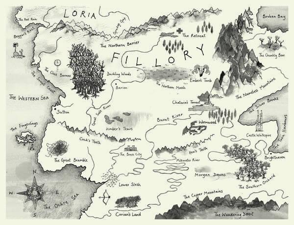 Mapas fantásticos: como os autores imaginam seus mundos da ficção 6
