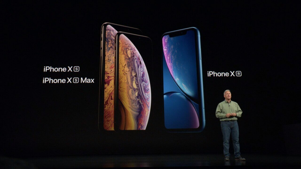 iPhone XS e iPhone XR