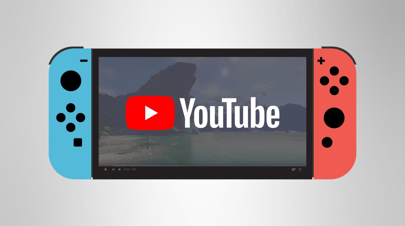 YouTube chega ao Nintendo Switch