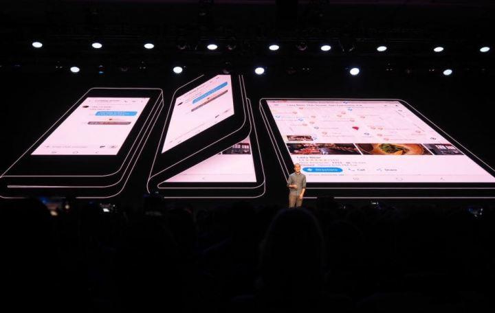 Smartphone terá duas telas, uma delas no modo tablet