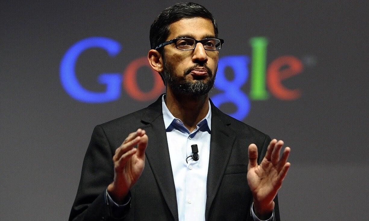 Presidente do Google depõe no Congresso sobre polêmica com Donald Trump 7