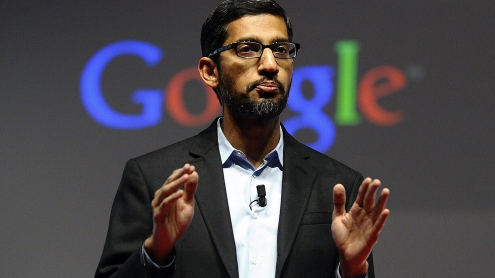 Presidente do Google depõe no Congresso sobre polêmica com Donald Trump 3