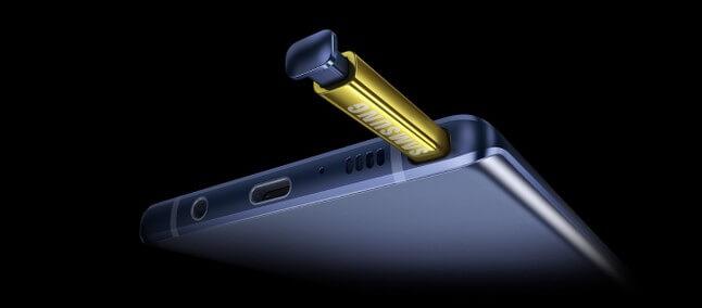 S-Pen, do Galaxy Note 9