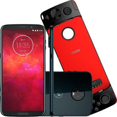 Snaps Câmera do Moto Z3 Play,, um dos melhores smartphones de 2018