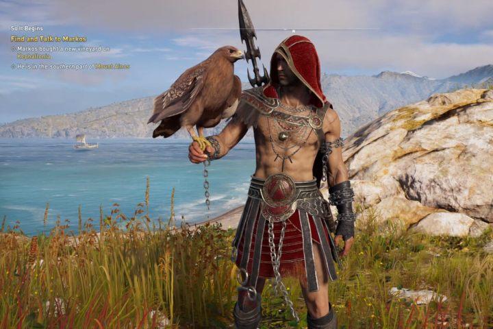 Print do Project Stream, que está oferecendo Assassin's Creed: Odyssey gratuitamente
