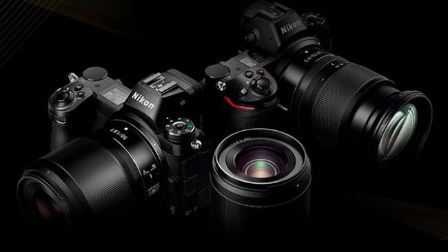 Câmeras Nikon Z7 e Z6