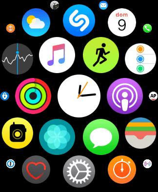 Apple watch series 4 os 8