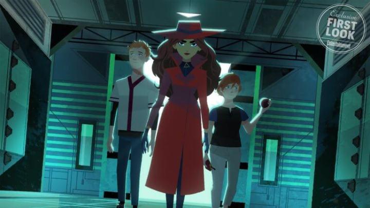 Novas imagens revelam o visual de Carmen Sandiego na animação da Netflix 7