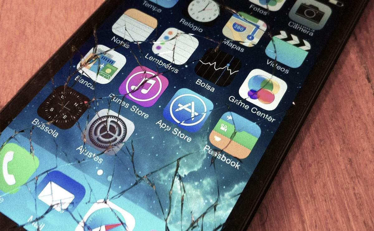 iPhone quebrado