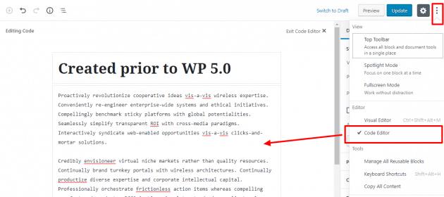 Nova atualização do Wordpress 5.0 já está disponível e traz novidades 13