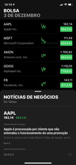 Bolsa no iPhone XR