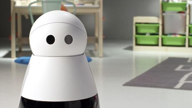 Robô Kuri, um dos produtos e serviços que foram descontinuados em 2018