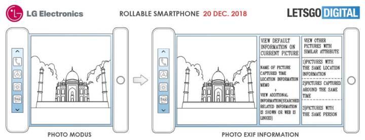 Protótipo de smartphone flexível da LG