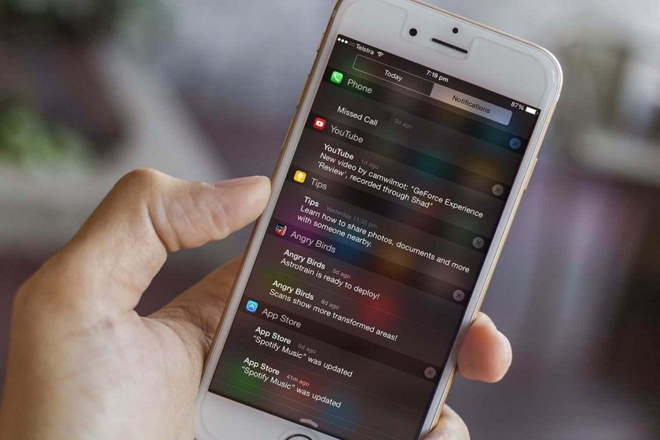 Diminua no seu Smartphone o número de notificações dos apps instalados