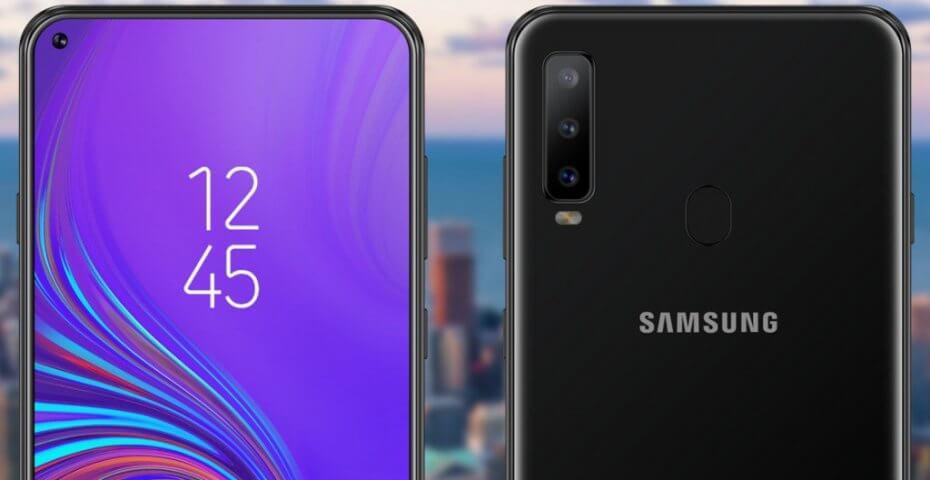 isplay do Galaxy A8s, que também deve estar no Galaxy S10