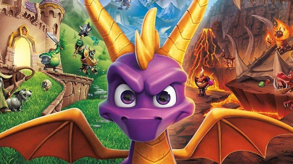 Spyro Reignited Trilogy marca a volta de uma trilogia de respeito do PS1 para a atual geração de consoles.
