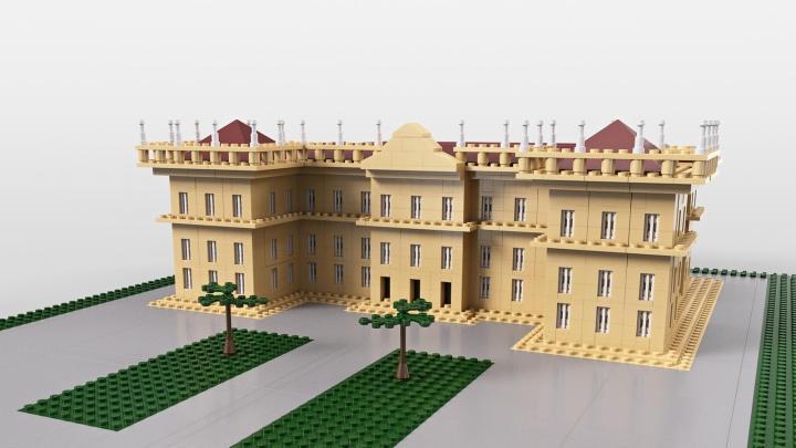 LEGO do Museu Nacional do Rio de Janeiro
