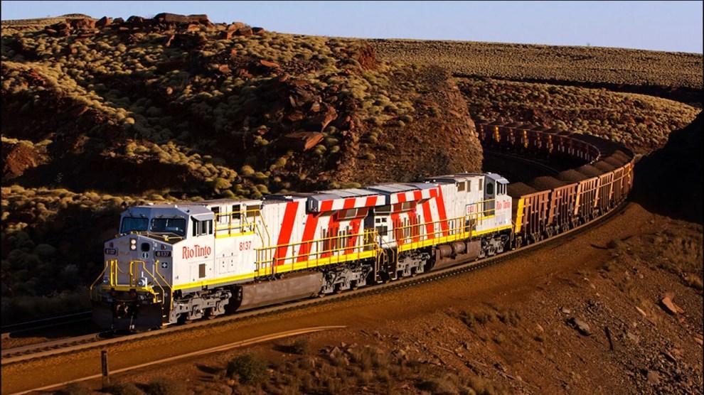 Trens autônomos: Austrália possui o maior robô do mundo 4