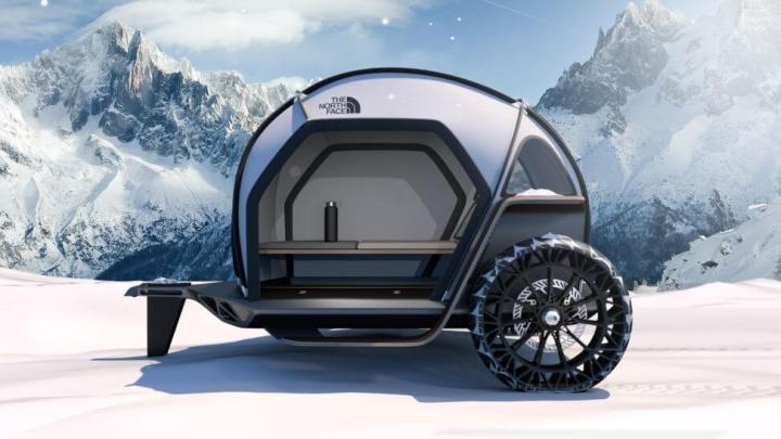 CES 2019: The North Face e BMW apresentam barraca de camping futurista 9