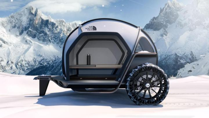 CES 2019: The North Face e BMW apresentam barraca de camping futurista 7